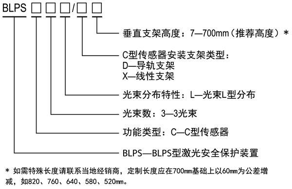 折弯机保护装置传感器规格型号